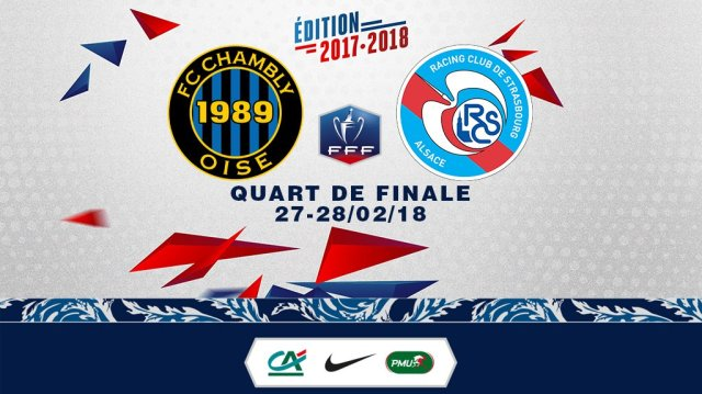 coupe de france 17-18 4tos de final hipotetico chembly vs racing strasbourg1
